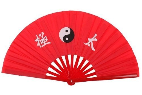 Patty Both New Chinese Kung Fu Martial Arts Dance/Practice Performance Tai Chi Fan Bamboo