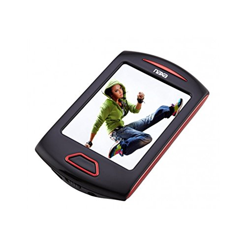 Naxa NMV-179 Portable 4GB MP3 Media Player 2.8 Touch Screen - Red Electronic Accessories