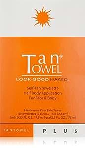 Tan Towel Self Tan Towelette Plus  10 Count