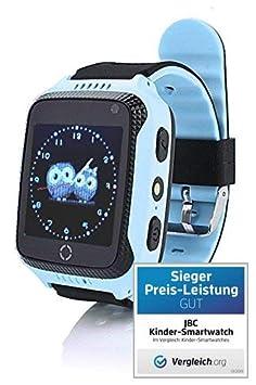 JBC GPS Telefon Uhr- Kleiner Abenteurer - ohne Abhörfunktion, sicherem Deutschen Server, SOS Notruf + Telefonfunktion, Anleit