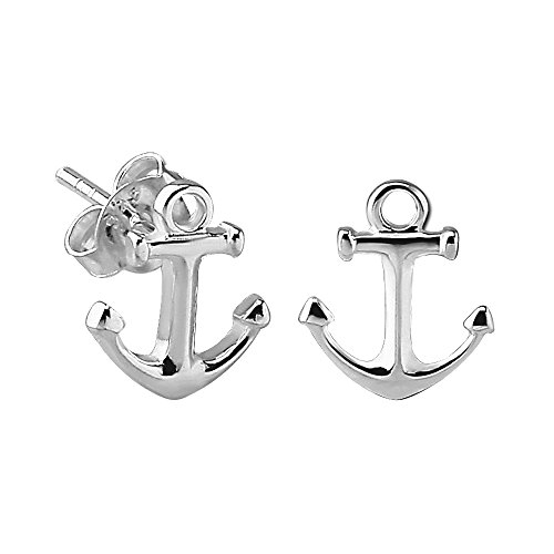 mall Anchor Stud Earrings (Anchor Stud Earrings)