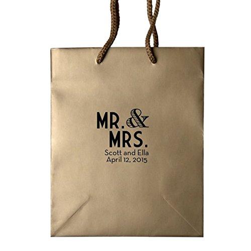 Amazon Custom Hotel Wedding Welcome Bags Names Date