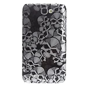 3D Effect Skull Pattern Hard Case for Samsung Galaxy Note 2 N7100