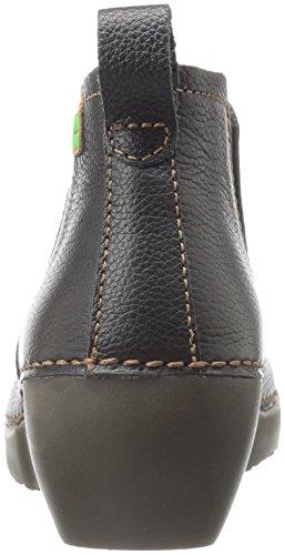 El Naturalista Damen Nc70 Soft Grain Black/Tricot Chelsea Boots Schwarz (BLACK N01)