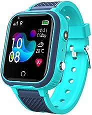4G Kids Smart Relógios, IP67 À Prova D Água LBS WiFi GPS Tracker Crianças Smartwatch Chamada de telefone para