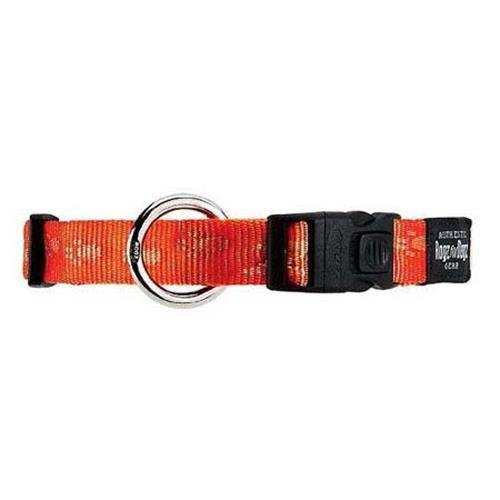 Rogz Alpinist Everest Orange Dog collar - XLarge