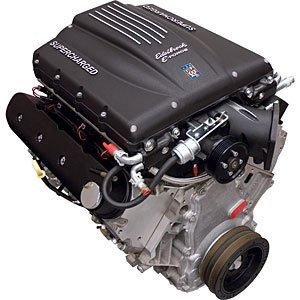Ls Crate Engine (Edelbrock 46760 416 CID Crate Engine EForce Supercharged)