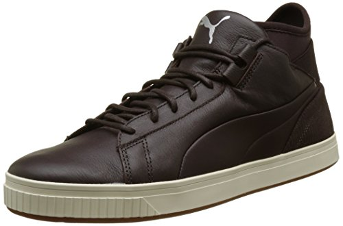 03 Zapatillas Play Black CITI White Puma Coffee Adulto Marrón whisper Unisex vBAwnxP