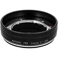 Fotodiox Pro Lens Mount Adapter, Contax G Lens to Sony NEX E-Mount Mirrorless Camera such as Alpha a7, NEX-5