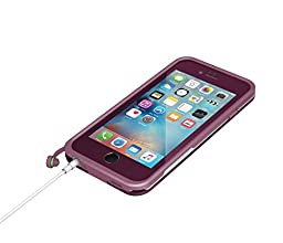 Lifeproof 77-52568 FRE Waterproof Case for iPhone 6/6s (4.7-Inch Version)- Crushed (Stomp Purple/Paddle Purple/Sky Fly Blue)