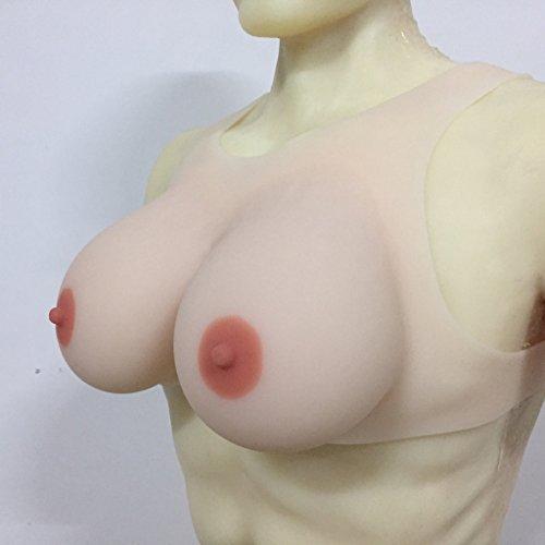 IVITA 1400g Silicone Breast Forms Crossdresser CD TV Boobs no need Bra by IVITA