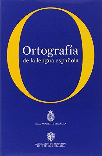 Ortografía de la Lengua Española, Spanish Edition (Real Academia Espanola)