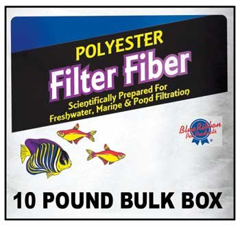 Blue Ribbon Pet Products ABLPLY10 Polyester Floss Bulk Filter Media, 10-Pound ()