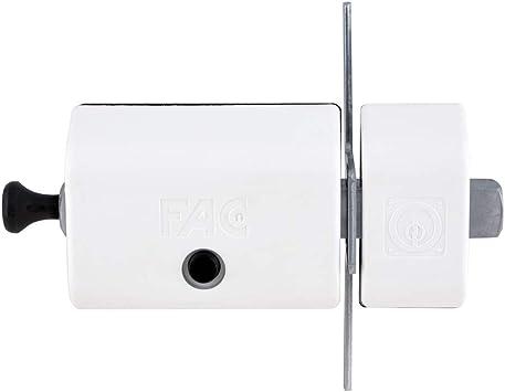 FAC 446-RP/80 - Cerrojo MAGNET UVE, acabado blanco: Amazon.es ...