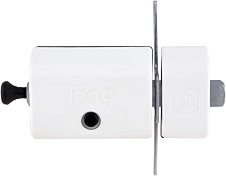 FAC 446-RP//80 Cerrojo MAGNET UVE acabado blanco