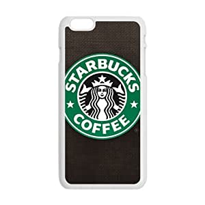 Happy Starbucks design fashion cell phone case for iPhone 6 plus