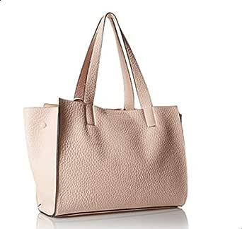لندن فوغ حقيبة جلد صناعي للنساء-زهري - حقائب كبيرة توتس