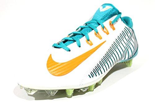 Nike Vapor Carbon Elite Td Heren Voetbal Klampen Wit / Aqua / Oranje