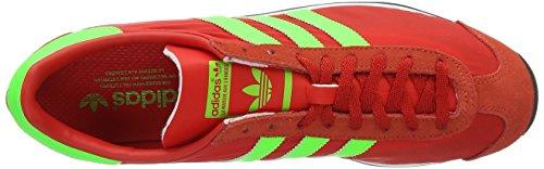 Corsa Country vinwht Da sgreen Multicolore Uomo Adidas red Scarpe Og wZqTfvI