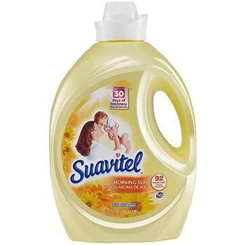 Suavitel Morning Sun Liquid Fabric Conditioner, 135 fl oz 5.44 x 7.76 x 12.25 Inches