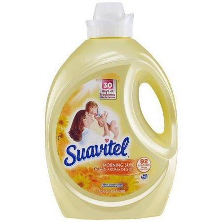 Suavitel Morning Sun Liquid Fabric Conditioner, 135 fl oz 5.44 x 7.76 x 12.25 Inches