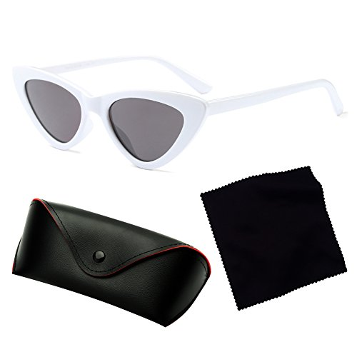 Sunglasses Eye Mujeres Red Small Cat Triangle Sexy C2 Juleya Sunglasses Retro qfxOzTPw