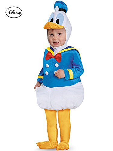 [Disney Donald Duck Prestige Costume for Toddler] (Donald Duck Costumes For Adults)