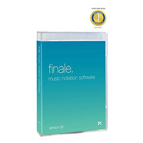 MakeMusic Finale 25 Music Notation Software Retail with 1 Year EverythingMusic Extended Warranty Free ()