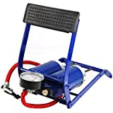 Coido Twin Cylinders Foot Tyre Ball Inflator Pump Compressor available at Amazon for Rs.1799