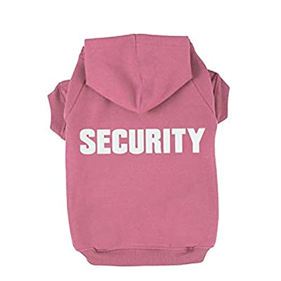 BINGPET BA1002-1 Security Patterns Printed Puppy Pet Hoodie Dog Clothes from BINGPET