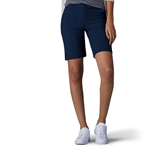 LEE Women's Relaxed Fit Performance Rhodes Bermuda Short, Imperial Blue, 16 ()
