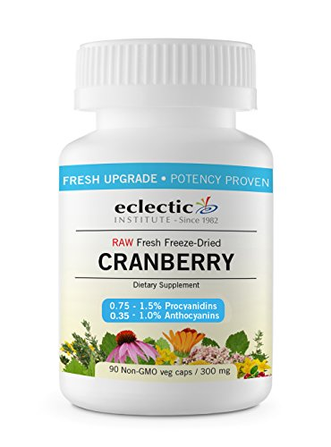 Eclectic Institute Cranberry - Eclectic Cranberry 300 Mg Cog FDUV, Blue, 90 Count