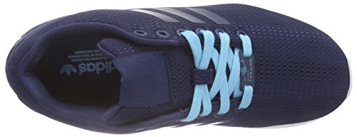 Indigo Sneakers Adidas night blue Femme Indigo Zx Flux Glow Night XBqR1B