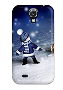 Fashion Protective Winter Love Case Cover For Galaxy S4