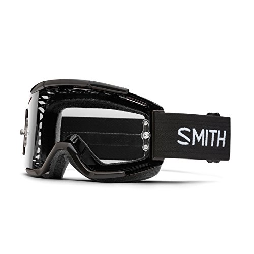 Smith Optics Adults Squad MTB Off Road Goggles – Clear AFC Lens – SQB1