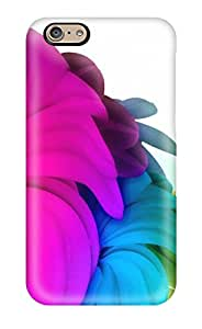 Juree Regazzi OjQiTvJ19859jfnhh Protective Case For Iphone 6(bright Colorful Flowers In White )
