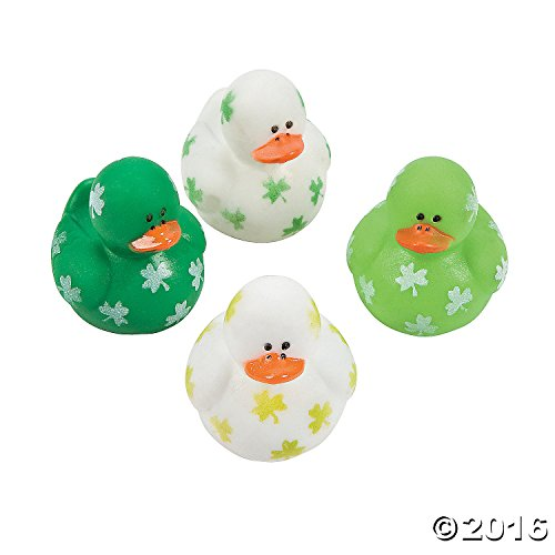 Two-Dozen-24-Mini-Irish-St-Patricks-Day-Rubber-Ducks