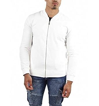 Veste Denim Vêtements Zippée Gov Homme Et w 173052 Blanc qgg6zwr