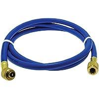 Rheem 41601 Rubber Blue Refrigerant Hose, 5 Length, Standard Fittings, 0.25 ID, 0.500 OD
