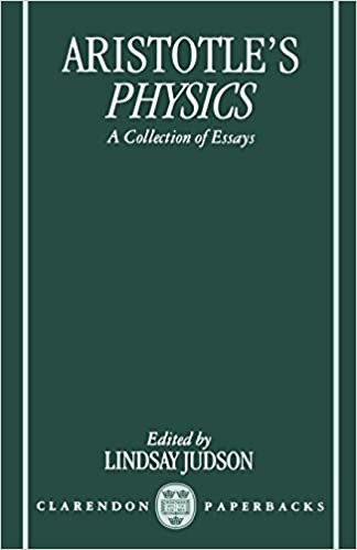 Amazoncom Aristotles Physics A Collection Of Essays Clarendon  Aristotles Physics A Collection Of Essays Clarendon Aristotle Poverty Essay Thesis also High School Personal Statement Sample Essays  Sample Essay Papers