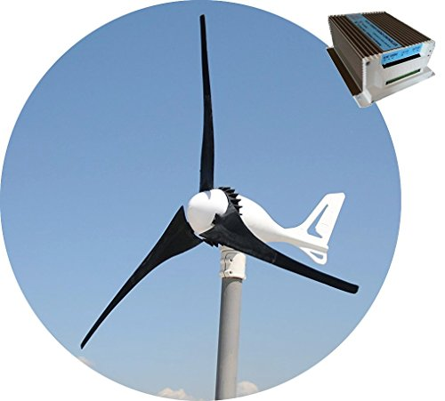 TESUP 12V i-500 Wind Turbine + 650W Hybrid Charge Controller (Made in Europe) 650 Hybrid