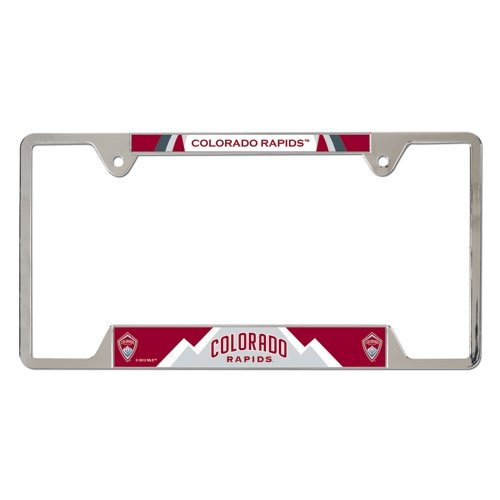 fan products of SOCCER Colorado Rapids Metal License Plate Frame