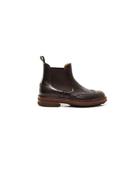 16ed4e40c1322 Santoni uomo - Botas de Cuero para Hombre  Amazon.es  Zapatos y ...