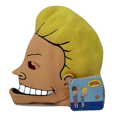 Rubie's Costume MTV Beavis and Butt-Head Adult Deluxe Overhead Latex Beavis Mask  Multicolored  One Size ()
