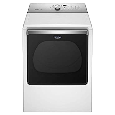Maytag MGDB835DW Bravos XL 8.8 Cu. Ft. White Gas Dryer
