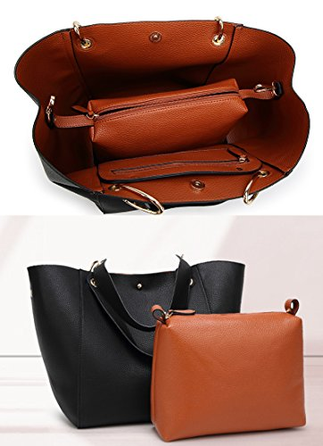 Handbags Tote purse Bag Women's Red Bags Waterproof SQLP Shoulder ladies Leather Fashion 4FwxIqz7