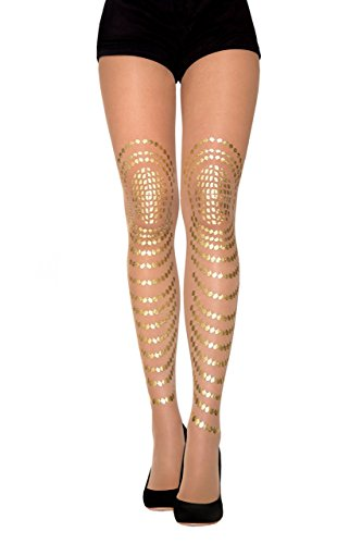 Goldfish nude gold tights by Stern Tights by Gal Stern