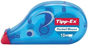 Tipp-Ex Pocket Mouse correction roller with dry tape, 4.2mm width x 9m length, EACH by Tipp Ex