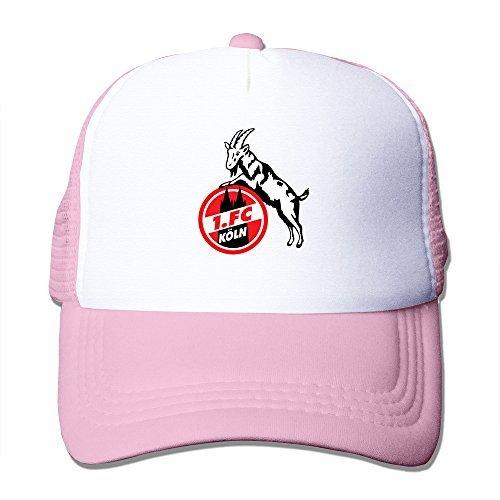 Hot Topic FC Koln Koeln Unisex Baseball Caps Trucker Hat Adjustable 100% Nylon Pink By JE9WZ