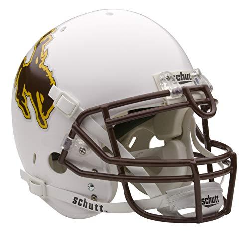 Schutt NCAA On-Field Authentic XP Football Helmet, Wyoming Cowboys
